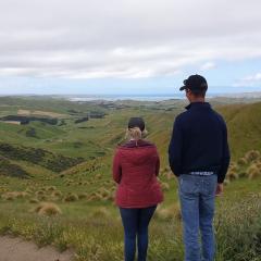 Shannon Landmark visits New Zealand as part of Zanda McDonald program