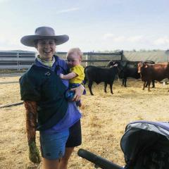 Juggling travel, work and a newborn